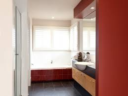 the neutral colours work as a great backdrop for the hint of red