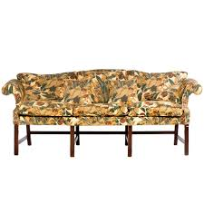 Chippendale Camelback Sofa Slipcovers Chippendale Period Camel Back Sofa For Sale At 1stdibs