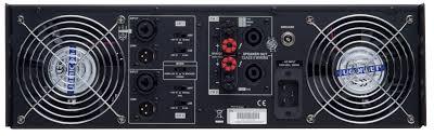 cv 5000 cerwin vega high performance professional power amplifier