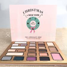 2017 too makeup christmas in new york the chocolate shop holiday
