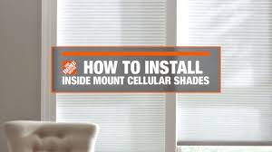 how to install inside mount cellular window shades decor how