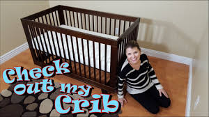 Hudson 3 In 1 Convertible Crib With Toddler Rail by Babyletto Hudson 3 In 1 Convertible Crib Review U0026 Assembly Youtube