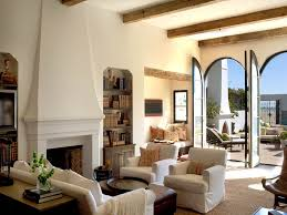 beach style living rooms spanish mediterranean style home