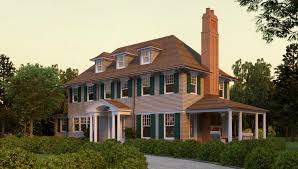 New England House Plans Home Design Shingle Style Architecture Characteristics New England