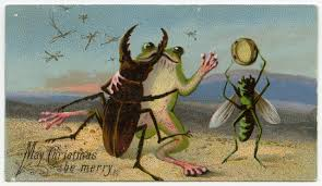 images of victorian christmas cards have a creepy little christmas with these unsettling victorian cards