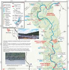 Kayak Map Mon River Coalition