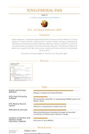 R D Resume Sample by Dietetic Intern Resume Samples Visualcv Resume Samples Database