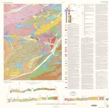 County Map Of Colorado Geologic Colorado Poudre Canyon Area Maplets