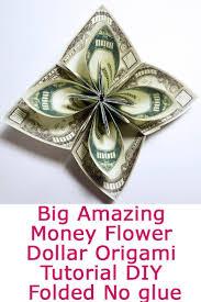 money flowers origami money flower images craft decoration ideas