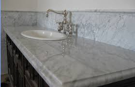 marble countertop for bathroom white carrera marble countertop globe bath kitchen remodeling