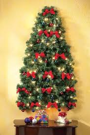 Hanging Decoration For Christmas by 60 Wall Christmas Tree Alternative Christmas Tree Ideas Family