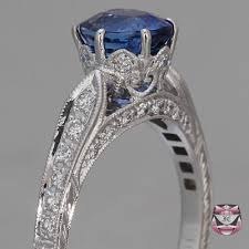 antique rings sapphire images Antique sapphire rings cert unheated sapphire ring jpg