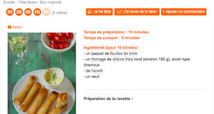 recettes de cuisine marmiton quand le célèbre site de cuisine marmiton org propose des recettes
