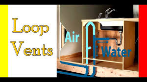 kitchen sink cabinet vent loop vents for venting islands in your kitchen