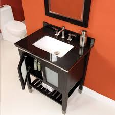 Glass Door Bathroom Cabinet - terrific installing bathroom vanity with legs for black painted