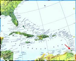 Trinidad And Tobago Map Map Of Tobago Caribbean You Can See A Map Of Many Places On The
