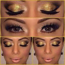 eyeshadow tutorial for brown skin how to wear gold eye makeup 7 ideas and tutorial videos