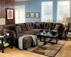 Blue Sofa Set Furniture Lovely Brown Microfiber Couch With Superb Color