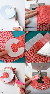 diy fabric initial ornament skip to my lou