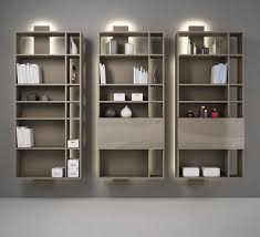 modular bookcase wall mounted contemporary for offices