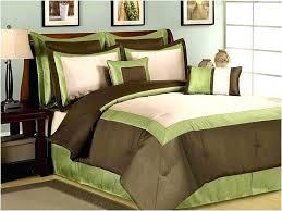 Olive Bedding Sets Green And Brown Duvet Covers Brown And Lime Green Bedding Sets