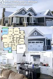 cottage style house plan 3 beds 2 5 baths 1492 sq ft plan 450 1 1982 best home floor plans images on pinterest architecture