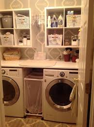 outstanding remodelaholic colorful blue laundry room makeover for