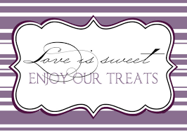 candy buffet labels template templates resume examples blydwjwadj