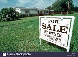 an estate agent u0027s for sale sign west palm beach florida usa
