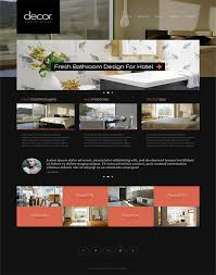 bathroom design templates 50 fantastic html furniture interior design website templates