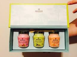 gourmet mustard maille releases a 2016 collection of gourmet mustards the