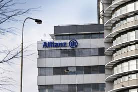 allianz siege social financial and insurance allianz logo on the building of the