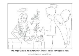 coloring page angel visits joseph angel visits joseph coloring page angel colouring pages page 3 angel
