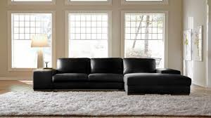 Black Leather Sectional Sofa Black Leather Sectional Sofa With Chaise Home Interior Decor Blog
