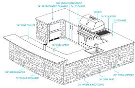 bright design outdoor kitchen designs 17 best ideas about on