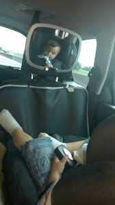 siège auto bébé dos à la route un miroir pour voir enfant installé dos à la route sécurange