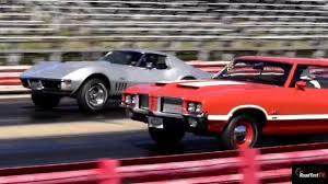 l88 camaro l88 427 corvette vs olds 442 w30 1 4 mile drag race