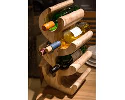 suar wooden wine rack suar accessories