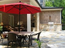 Sears Patio Umbrella by Patio 59 Red Patio Umbrellas Walmart With Chaise Lounge And