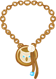 golden pendant necklace images Gold charm necklace club penguin wiki fandom powered by wikia