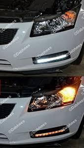 waterproof white amber switchback led drl switchback lights