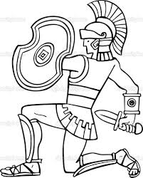 ier a weapon coloring pages picture r helmet page roman soldier