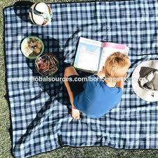 Outdoor Picnic Rug New Outdoor Picnic Rug Waterproof Backing China Folding Outdoor