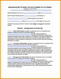 Temporary Power Of Attorney by 7 Massachusetts Durable Power Of Attorney Form Action Plan Template