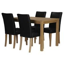 6 pc dining table set remarkable 4 seat kitchen table buy banbury dining set oak effect