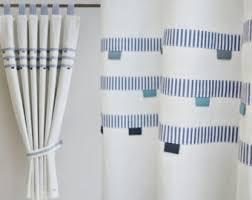 Boy Nursery Curtains Sea Theme Curtains Etsy