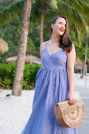 J Crew Home Decor J Crew Gingham Maxi Dress Covering The Bases Fashion And