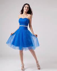 prom dresses royal blue knee length plus size masquerade dresses