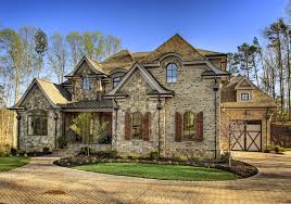 Sater Homes by Garrell Associates Inc Cheshire House Plan 99096 European Manor