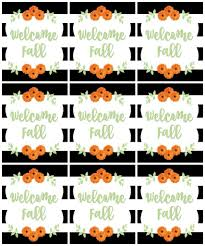 Free Printable Halloween Tags For Gift Bags by Welcome Fall 35 Free Printables Refresh Restyle